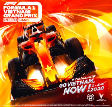 Banner mobile Formula 1 Vietnam Grand Prix 2020 - ticketbox.vn