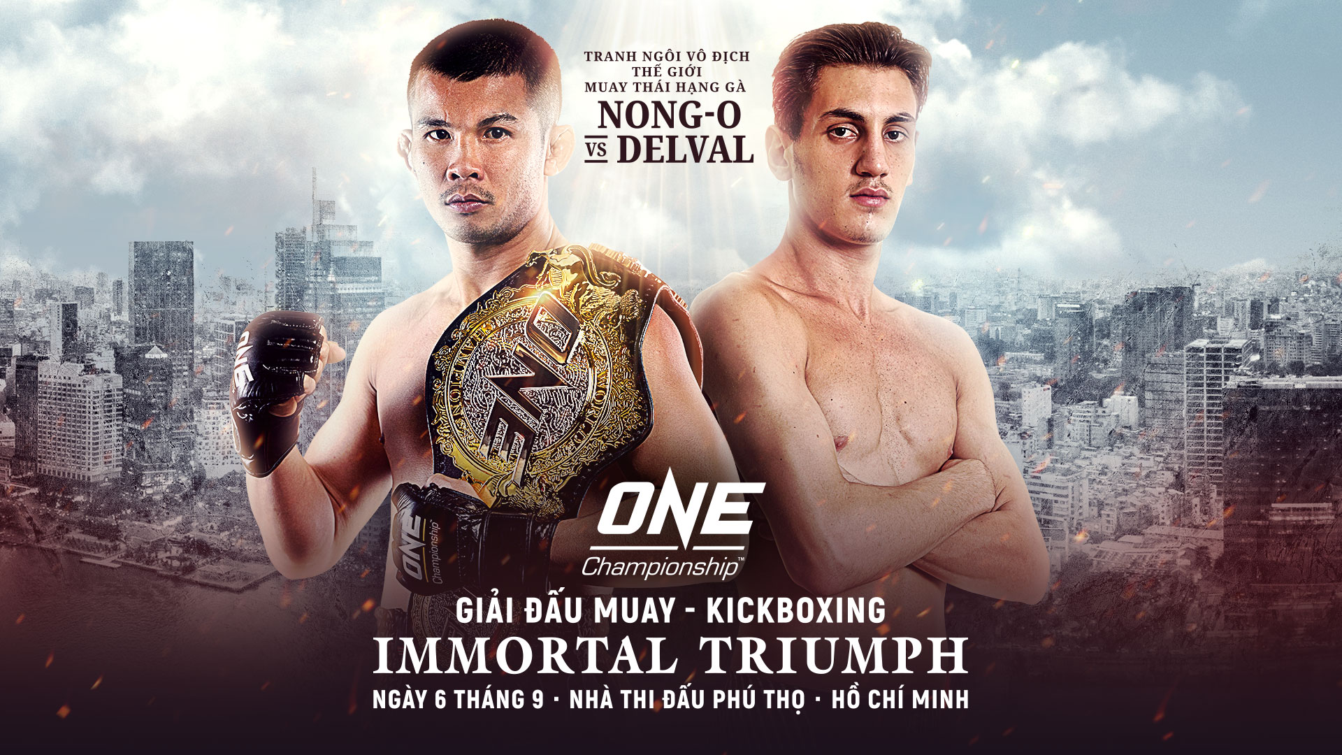 Giải đấu Muay - Kickboxing Immortal Triumph
