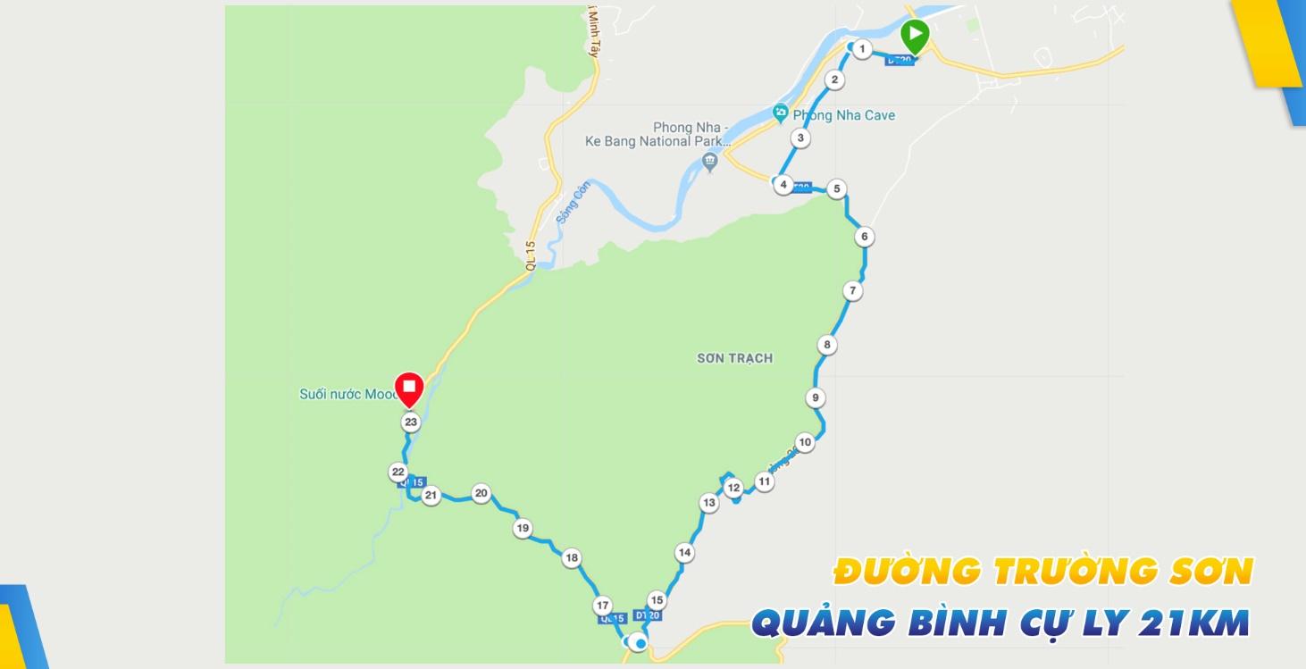 Quảng Bình cự ly 5km